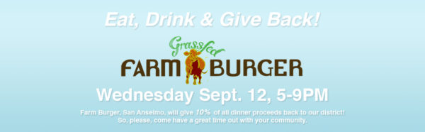 give back night FarmBurger San Anselmo